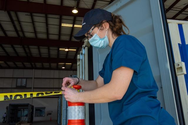 N95 Mask Decontamination Site Preparation