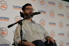 Vance Taylor at California For All Launch