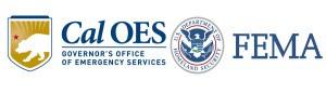 Logos for Cal O E S and FEMA