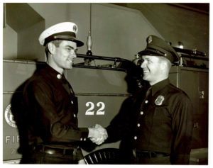 Captain Larry Schneider and Engineer Allan Richardson