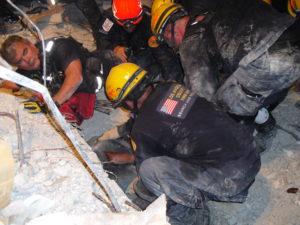 """Rescue of """"Jeanette"""" Haiti Earthquake"""