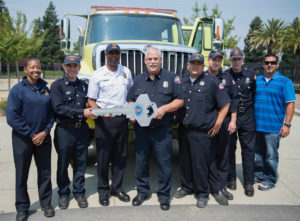 State Fire Chief Kim Zagaris and staff