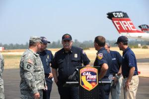 State Fire Chief Kim Zagaris