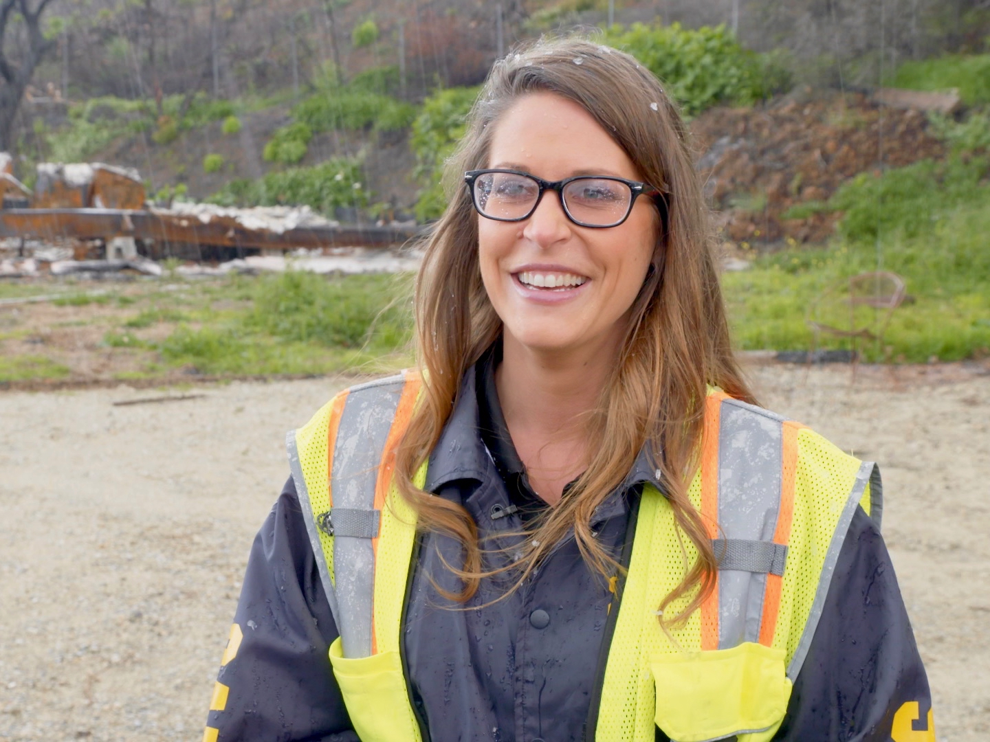 Podcast #59: On-Scene with Woolsey and Hill Fires Incident Commander Kendra Bowyer; Debris Removal Progress