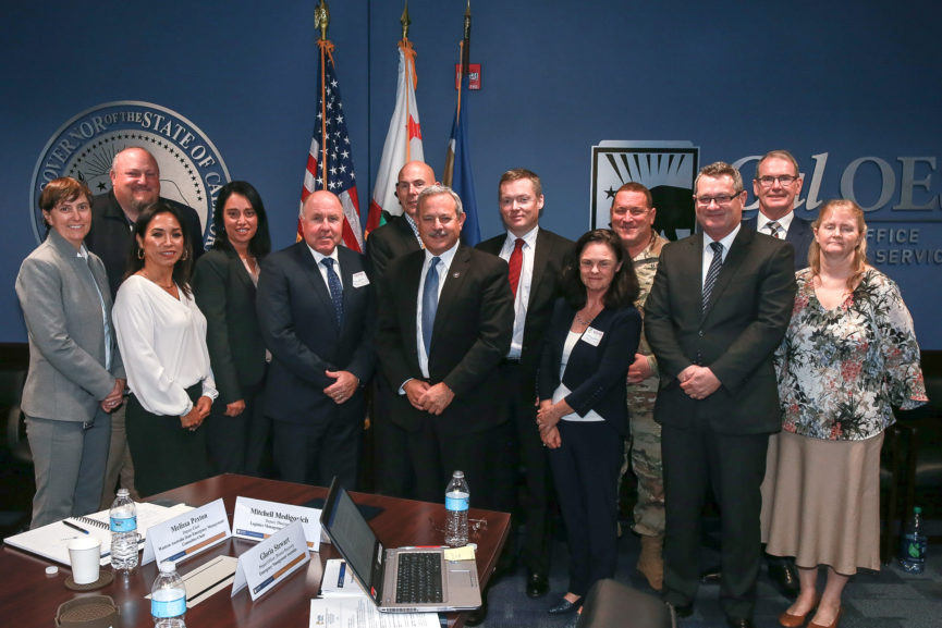 Australian Delegation of Top Emergency Managers Visit Cal OES to Share Best Practices and More