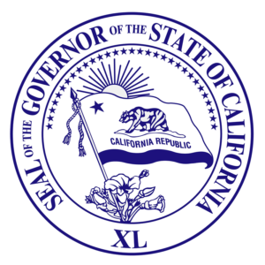 Seal of the Governor of the State of California - 40th Governor