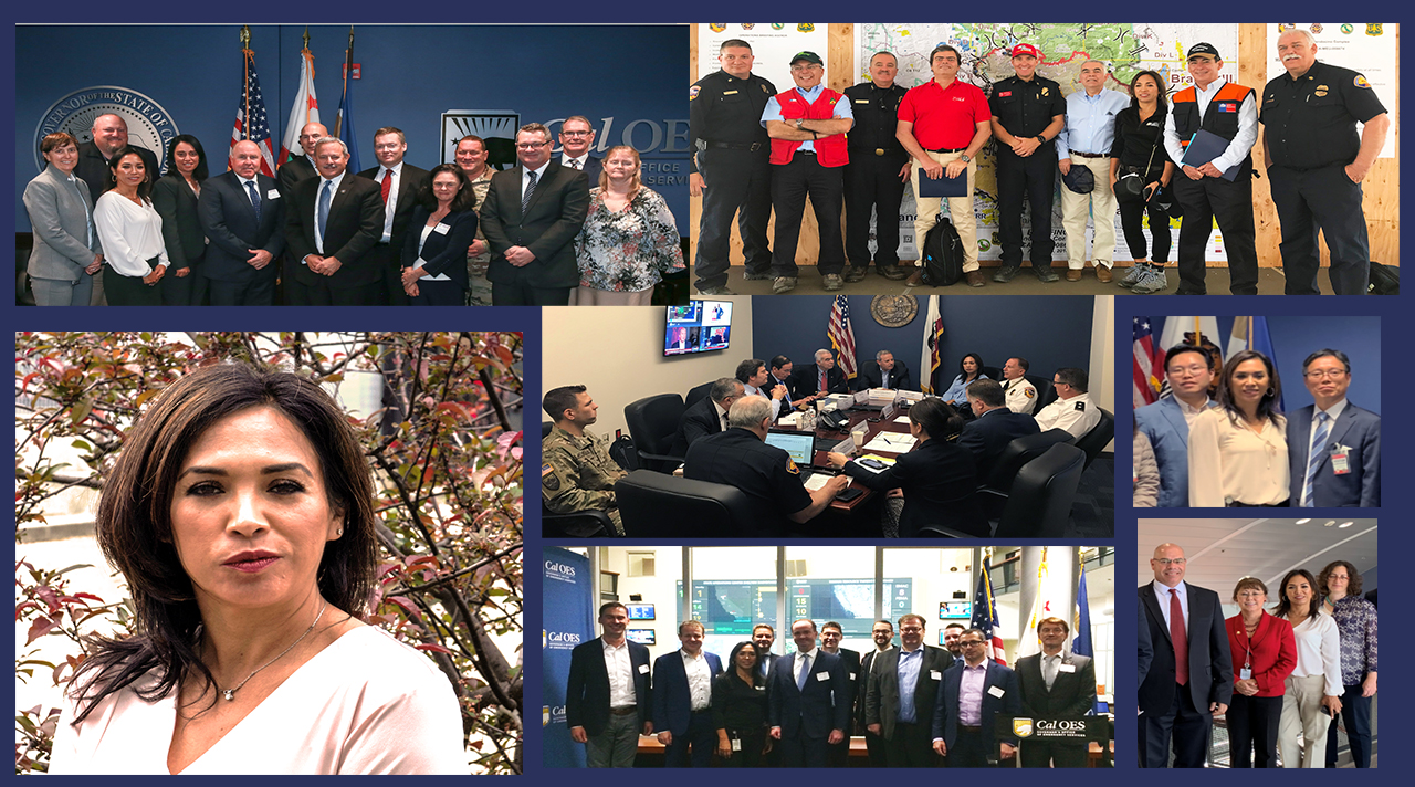 Podcast #72: Helen Lopez Leads Cal OES Behind and Beyond the California Borders Via International Affairs