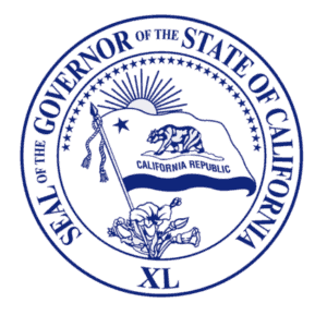 Seal of California's Governor