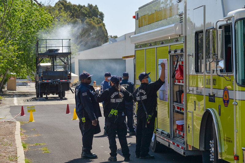 """Cal OES Leads Covid19-Safe Radiological Exercise """"Sentinel Response 2021"""""""
