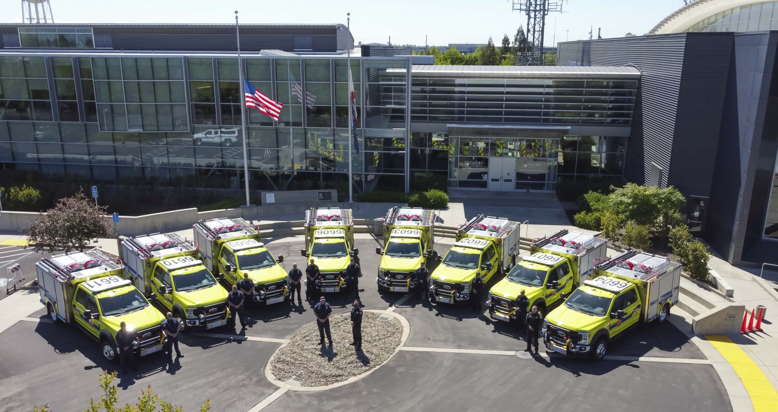 In Preparation for 2021 Wildfires, Cal OES Delivers New Type VI Engines into Mutual Aid System