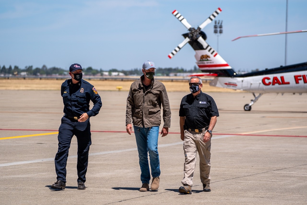 At McClellan Air Force Base, Governor Newsom Highlights New Firefighting Aircraft, $2 Billion in Wildfire and Emergency Preparedness Investments