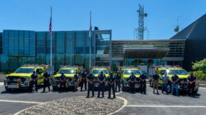 May 11th, 2021 Engine Transfer at Cal OES Headquarters