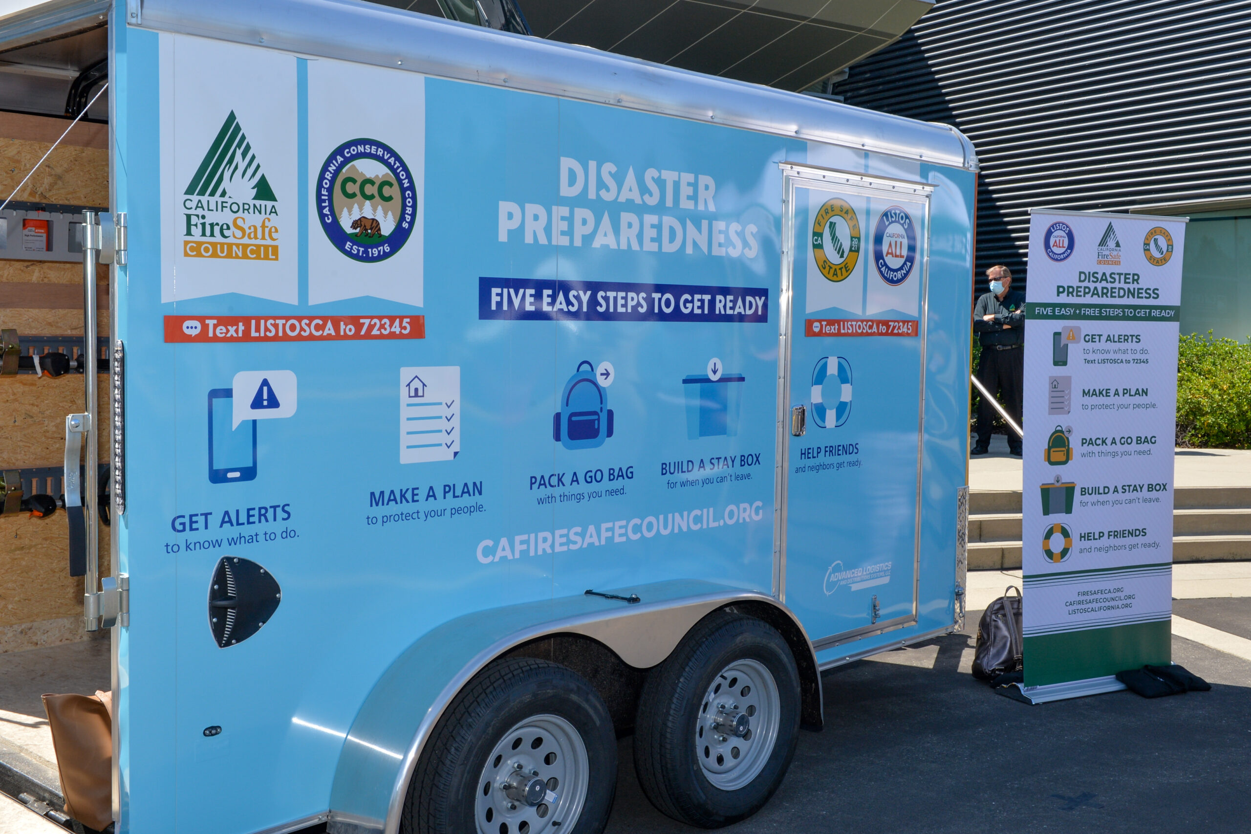 Trailers, Toolkits Expand Statewide Wildfire Preparedness Outreach