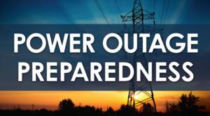 Power Outage Preparedness