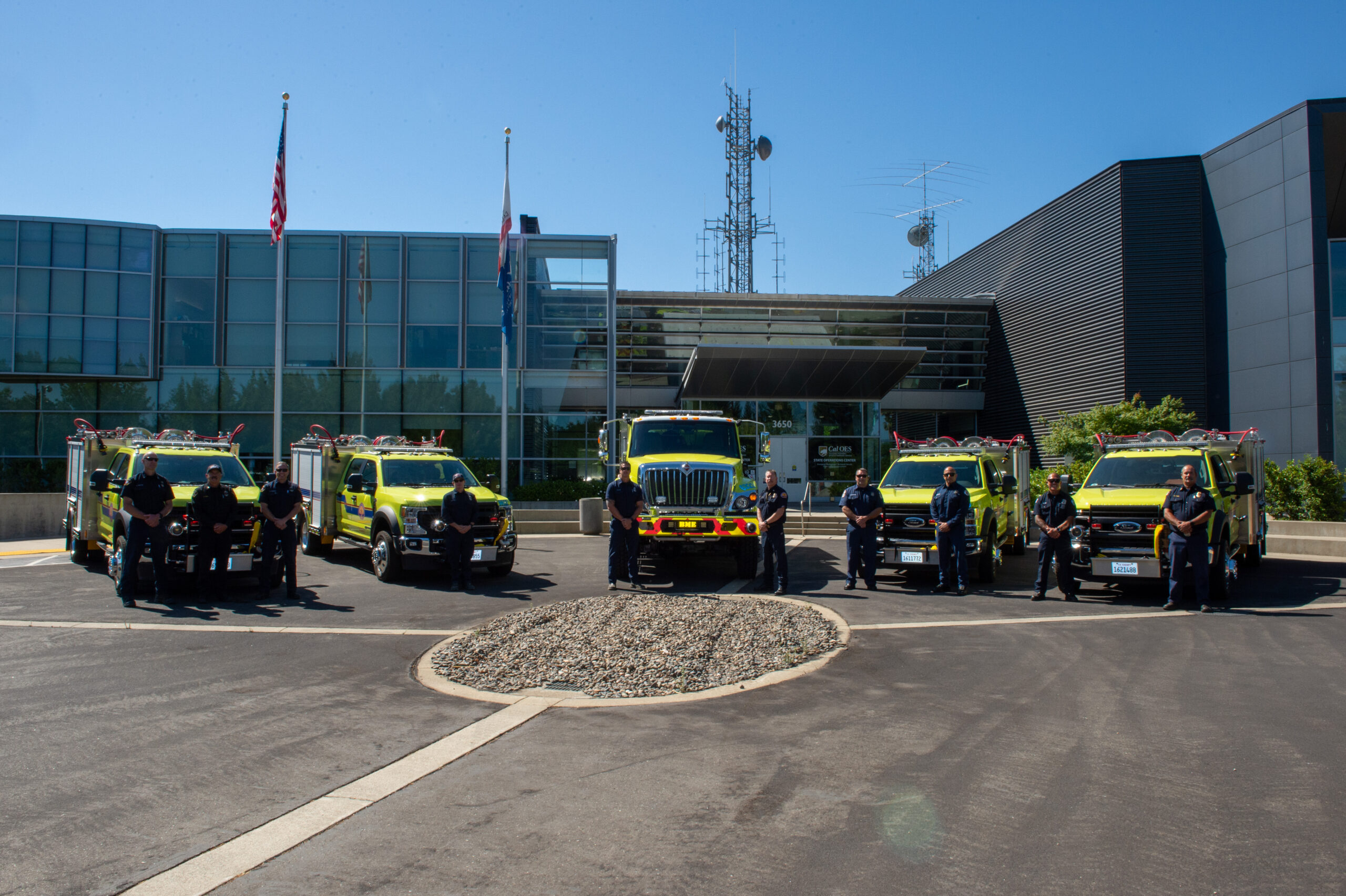 Cal OES Deploys Ten New Fire Engines to Protect Communities and Save Lives, More on the Way