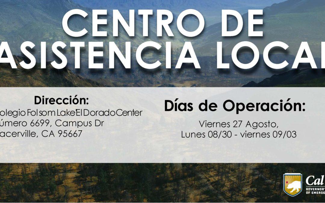 AMPLIA SU SERVICIO CENTRO DE ASISTENCIA LOCAL EN EL CONDADO EL DORADO