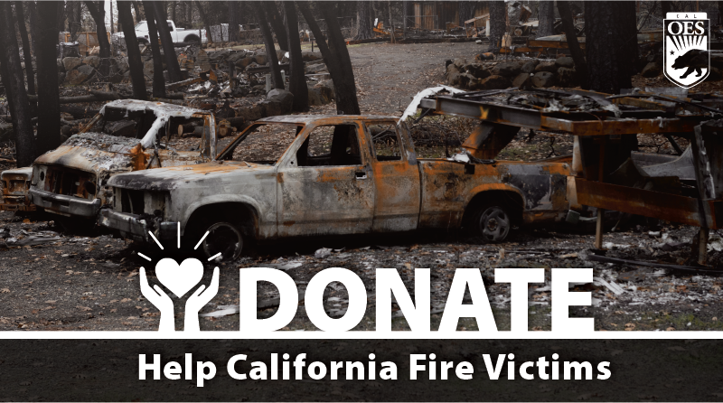 Wildfire Disaster Relief Services in California: How to Help Those Impacted by 2021 Fires