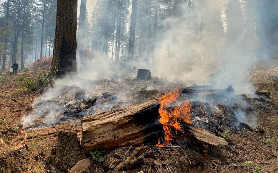 Widespread Evacuations in Effect for Caldor Fire in El Dorado County