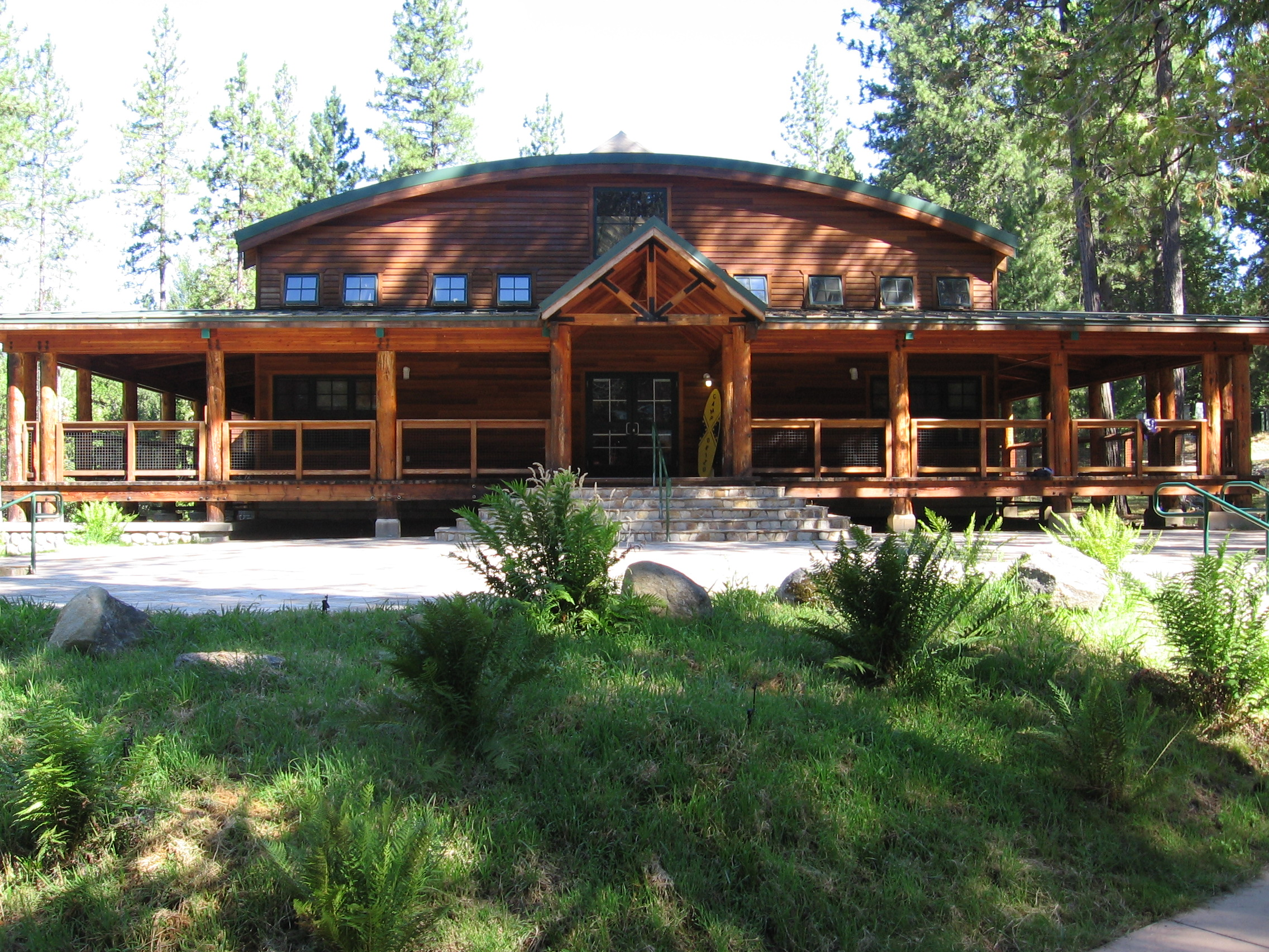The lodge at Camp Okizu