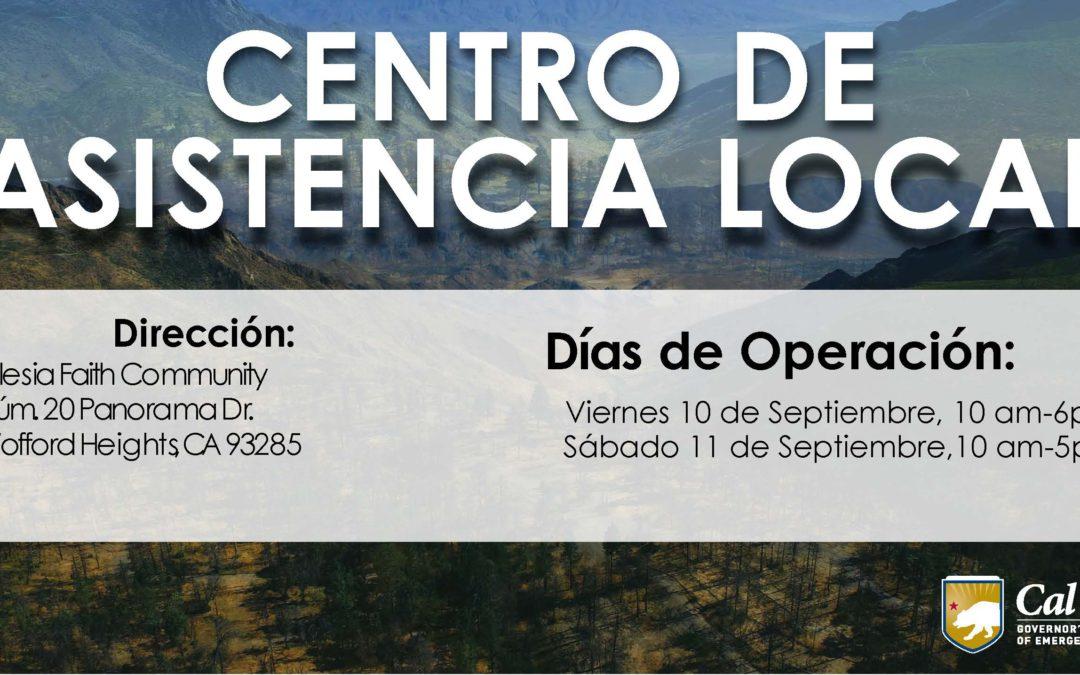 CENTRO DE ASISTENCIA LOCAL EN CONDADO KERN