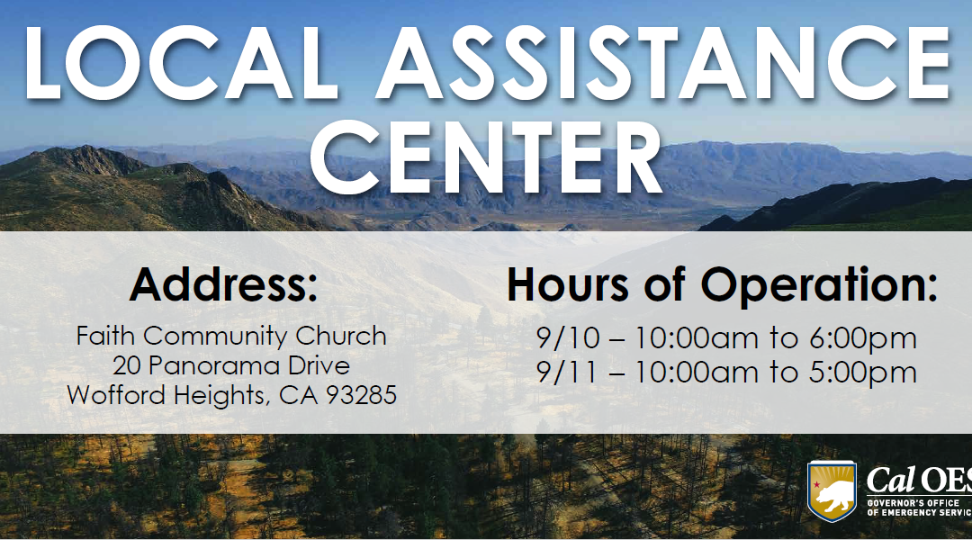 Local Assistance Center to Support French Fire Survivors