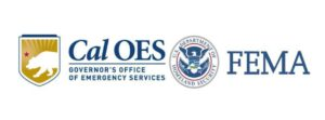Cal OES and FEMA logos