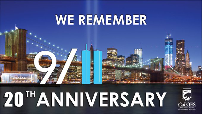 20 Years of Change at Cal OES Since the September 11, 2001 Terror Attacks