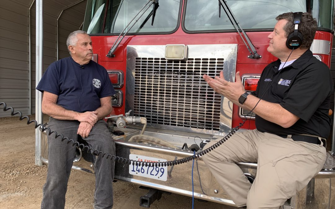 PODCAST #88: A Phoenix Rising in Greenville After the Dixie Fire Destroys Town, Fire Station, Truck