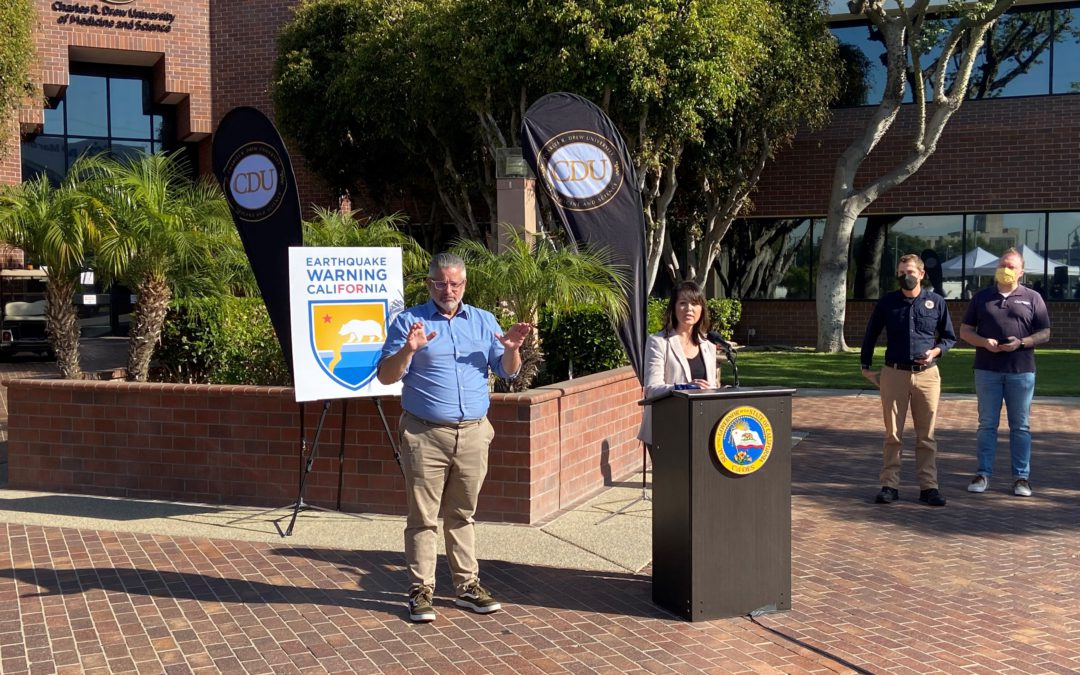 Cal OES Reminds Californians to be Prepared in Annual ShakeOut Drill